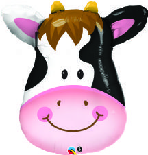 Contented Cow Super Shape Foil Balloon